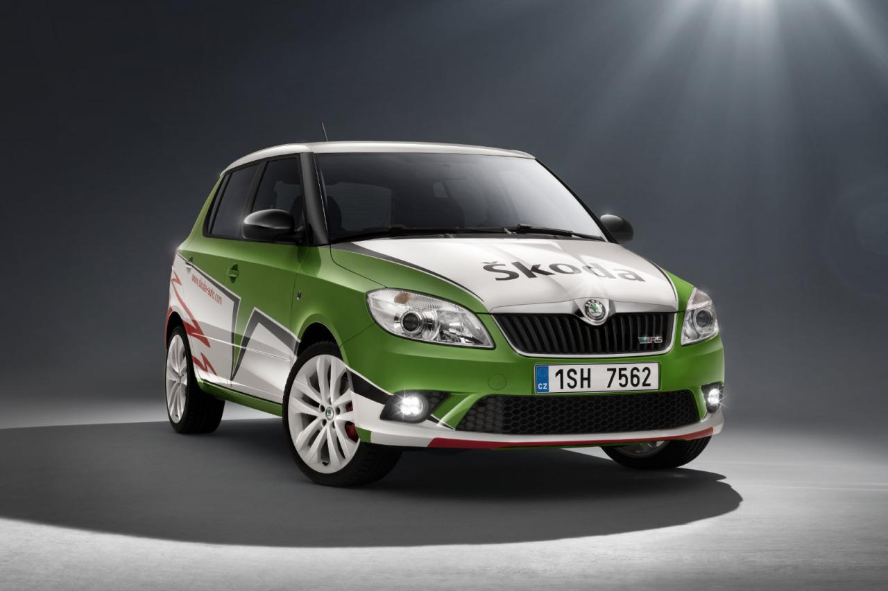 skoda fabia rs special edition celebrating 2010 irc championship win. Black Bedroom Furniture Sets. Home Design Ideas