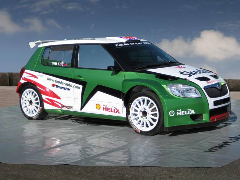 skoda fabia rs special edition celebrating 2010 irc. Black Bedroom Furniture Sets. Home Design Ideas
