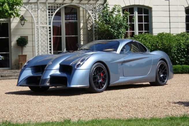 New Sports Car: The Panoz Roadster/AIV << AUTOCARS GARAGE