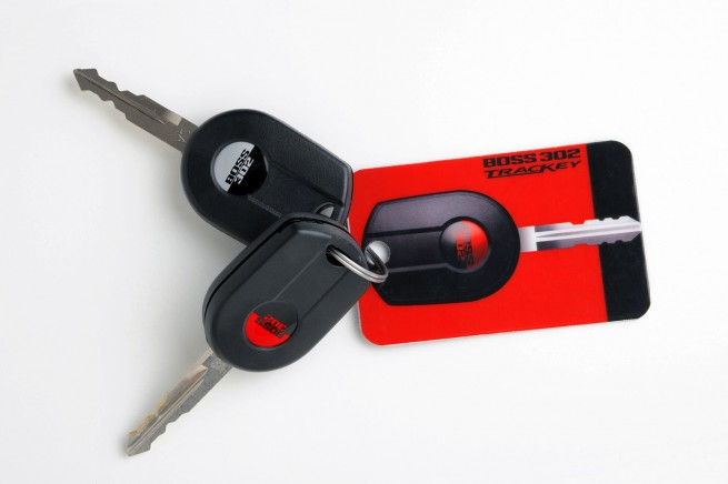 2012 Mustang Boss 302 Keys
