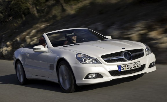 2010 Mercedes Benz SL600