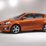 ChevroletSonicHatchbackFrontSide