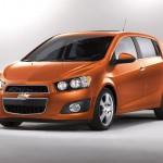 ChevroletSonicHatchbackFrontView