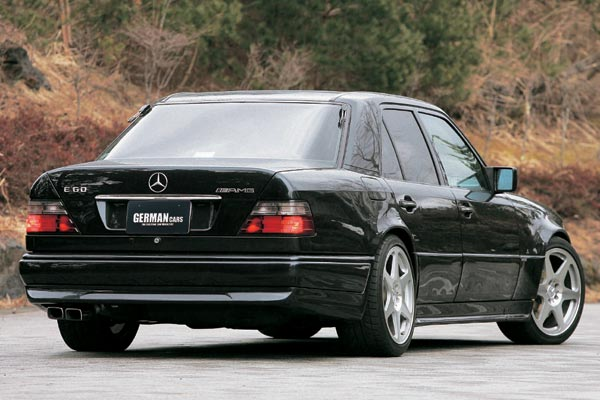 In rare form uncommon amg 39 s for Mercedes benz e60 amg