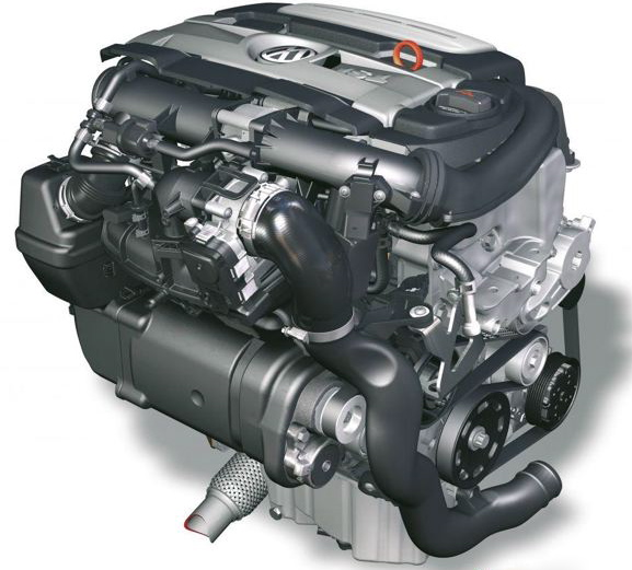 The Superb Eco Friendly Very Tractable 1 4 Turbocharged And Supercharged Engine That Volkswagen Calls Twincharger May A