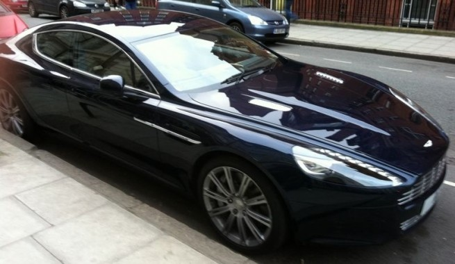2011 Aston Martin Rapide Side