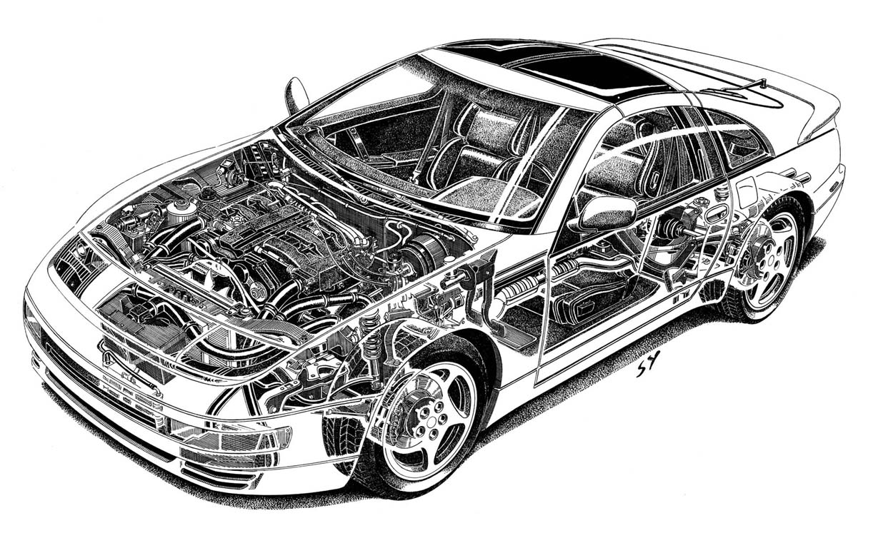 Carthrottle Asks Supra Turbo Vr 4 300zx Or Rx 7 1990 Mazda Engine Diagram Nissan 300 Zx Twin