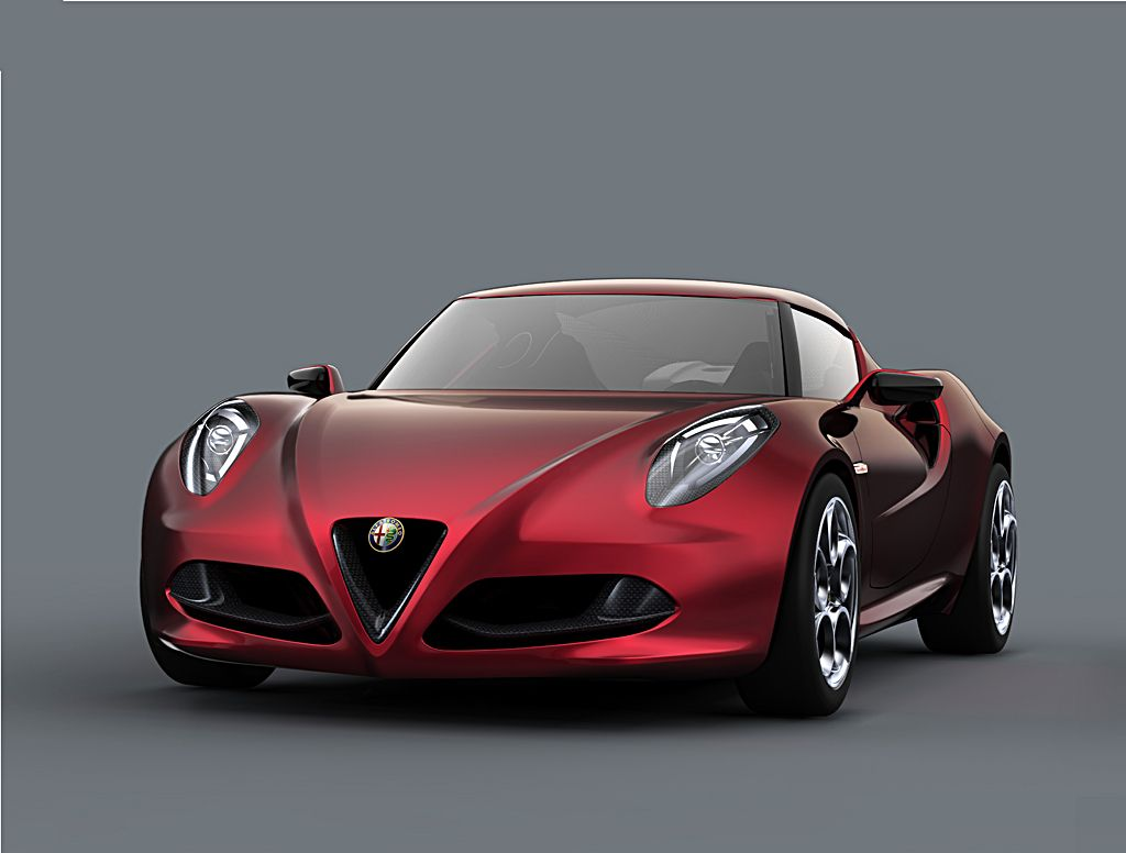 alfa romeo 4c concept redefines sexy. Black Bedroom Furniture Sets. Home Design Ideas