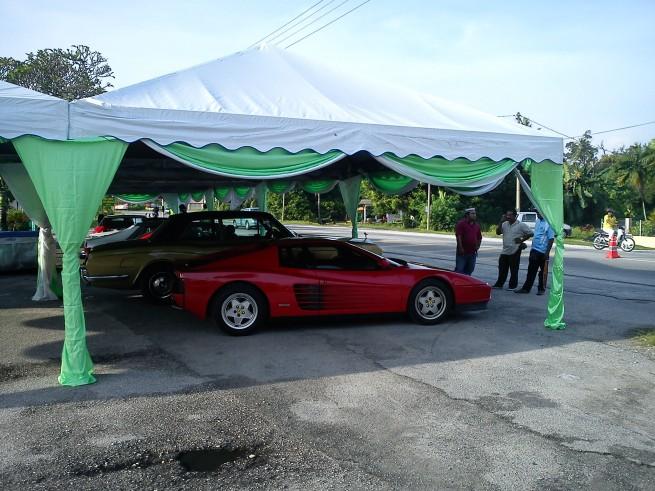 Ferrari Testarossa at Pengkalan Pegoh, Perak, Malaysia