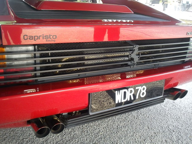 Ferrari Testarossa with Capristo Exhaust