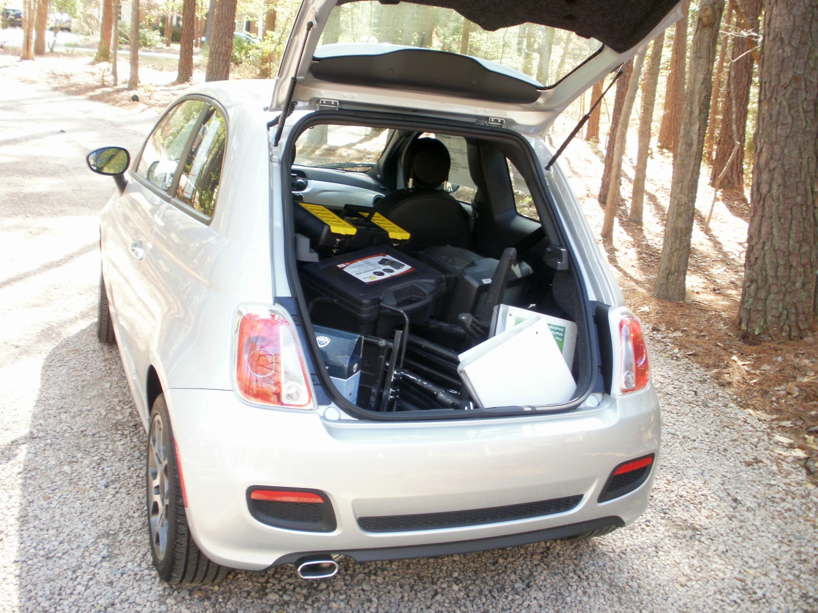 Fiat 500 Sport 5mt Review