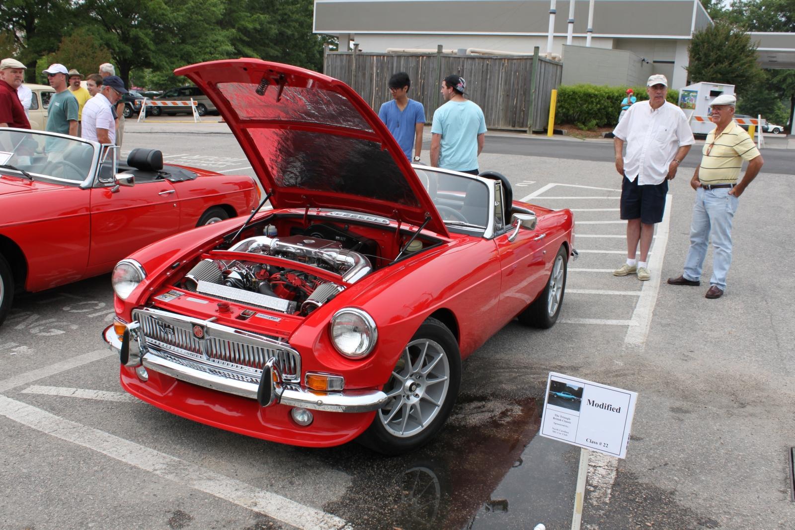 British Car Show at North Hills, 5/14/11
