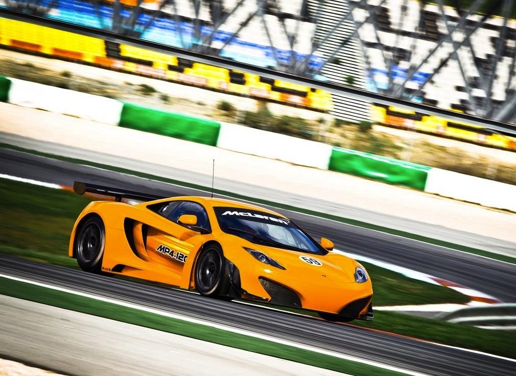 McLaren Releases New Videos of MP4-12C GT3 Race Car