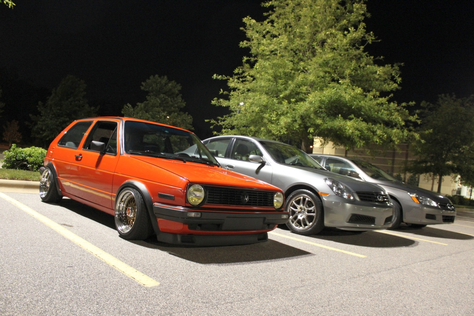 1985 MkII Golf GTI (with
