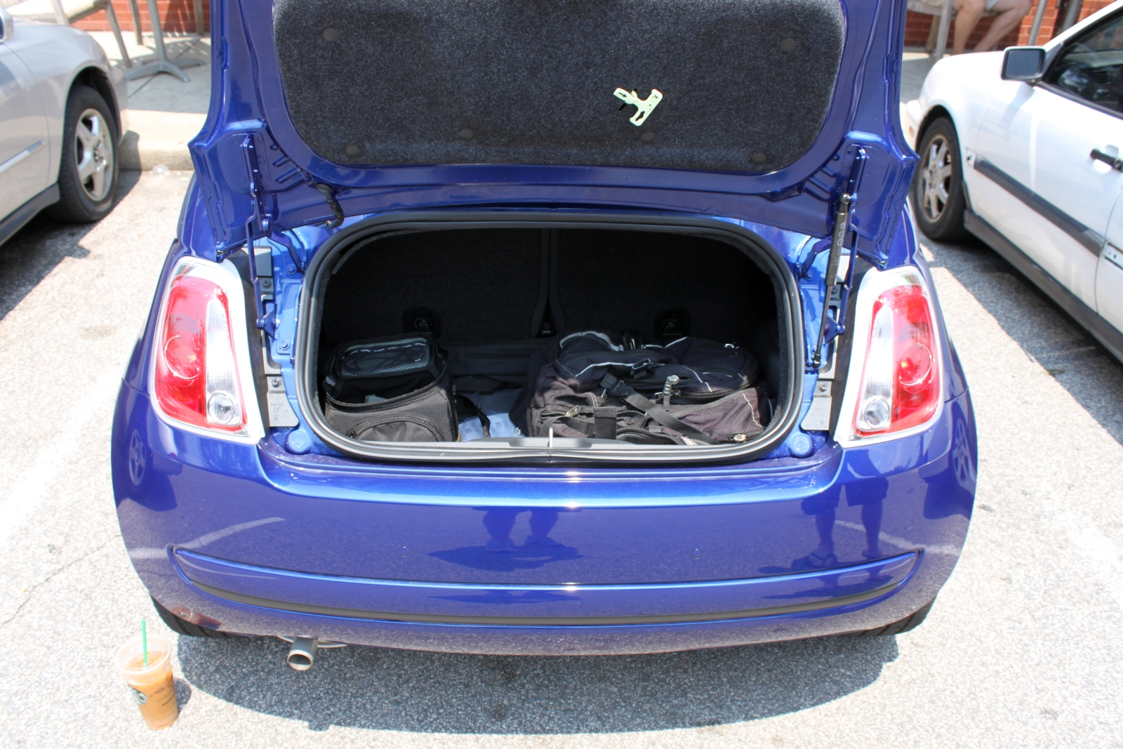 Fiat 500 Abarth Trunk 2012 Fiat 500C Review