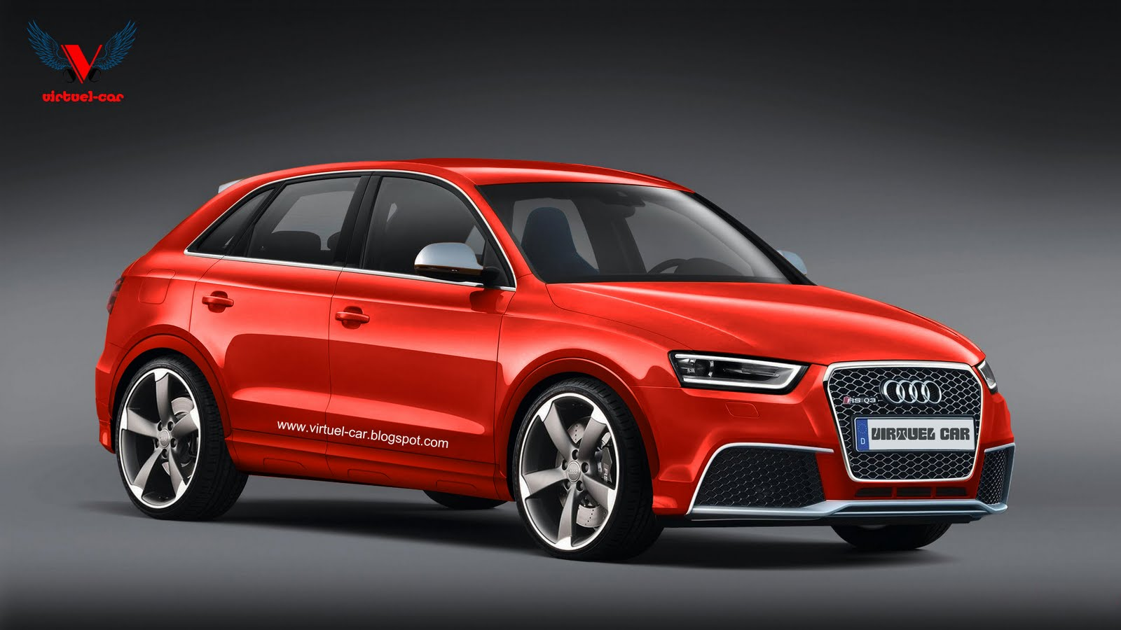 Audi Q3 Rs Rendered Coming To Europe Late Next Year