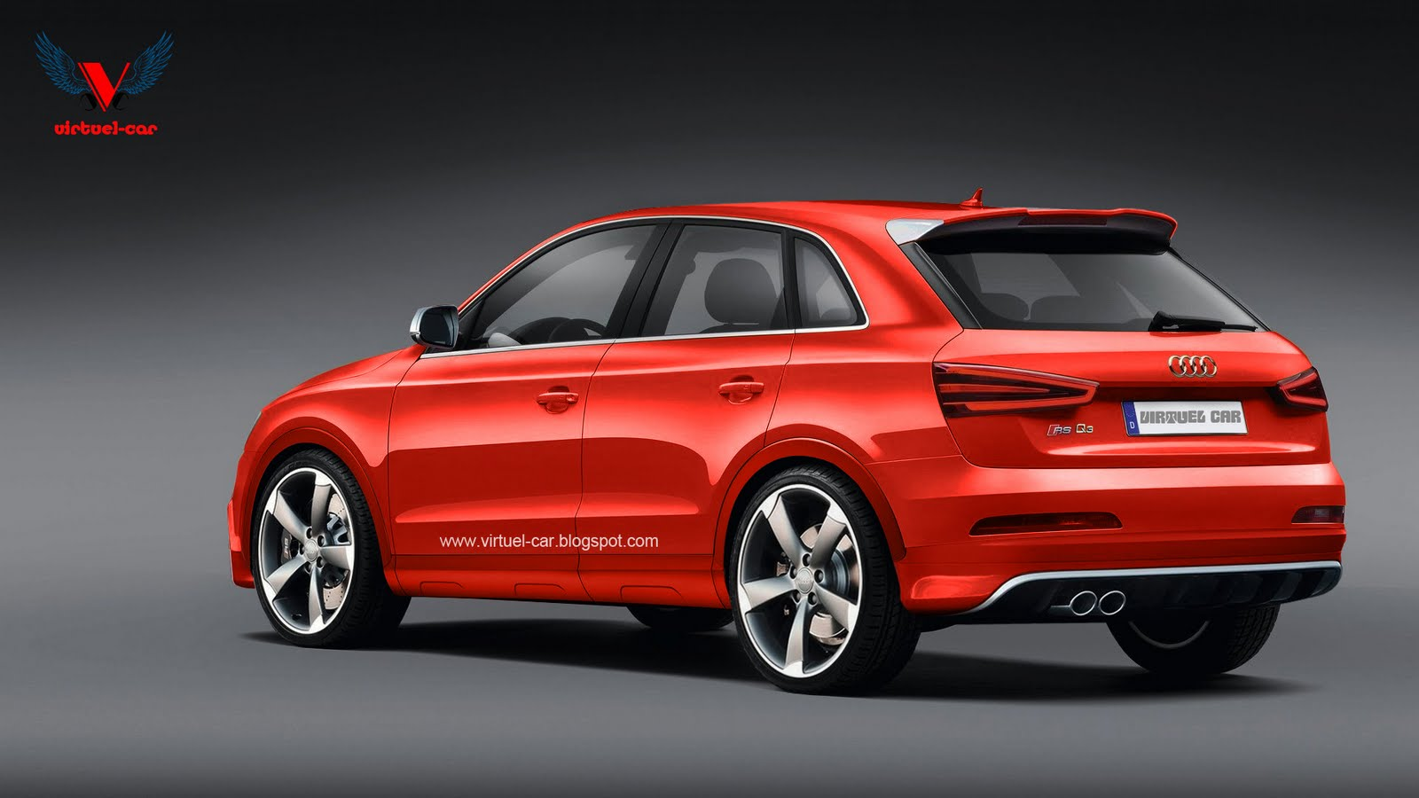 audi q3 rs rendered coming to europe late next year. Black Bedroom Furniture Sets. Home Design Ideas