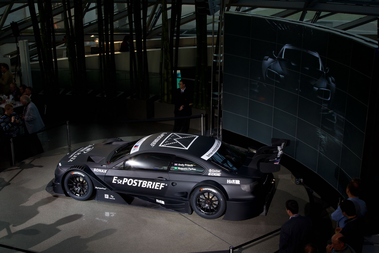 """The DTM comeback sees BMW"
