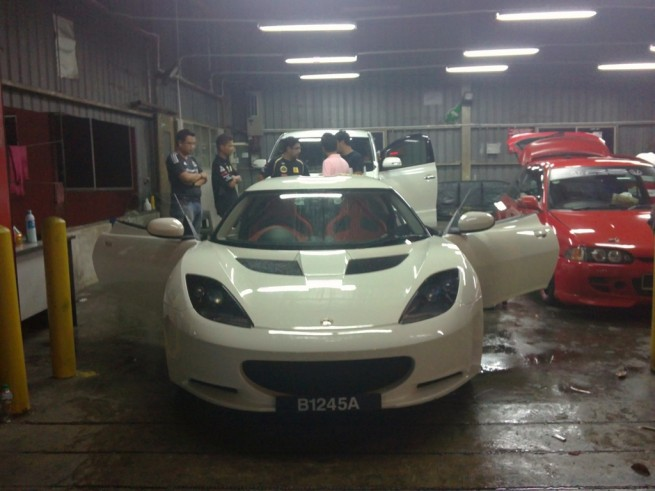 The 2011 Lotus Evora IPS