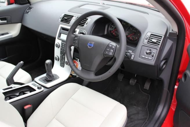 2012 Volvo C30 DRIVe Interior
