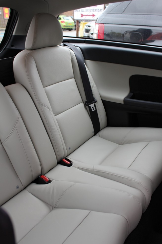 2012 Volvo C30 DRIVe Rear Seats