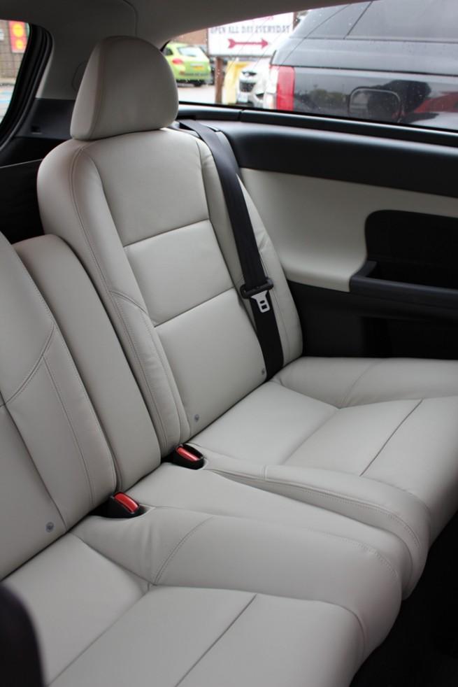 2012 Volvo C30 DRIVe Rear Seats