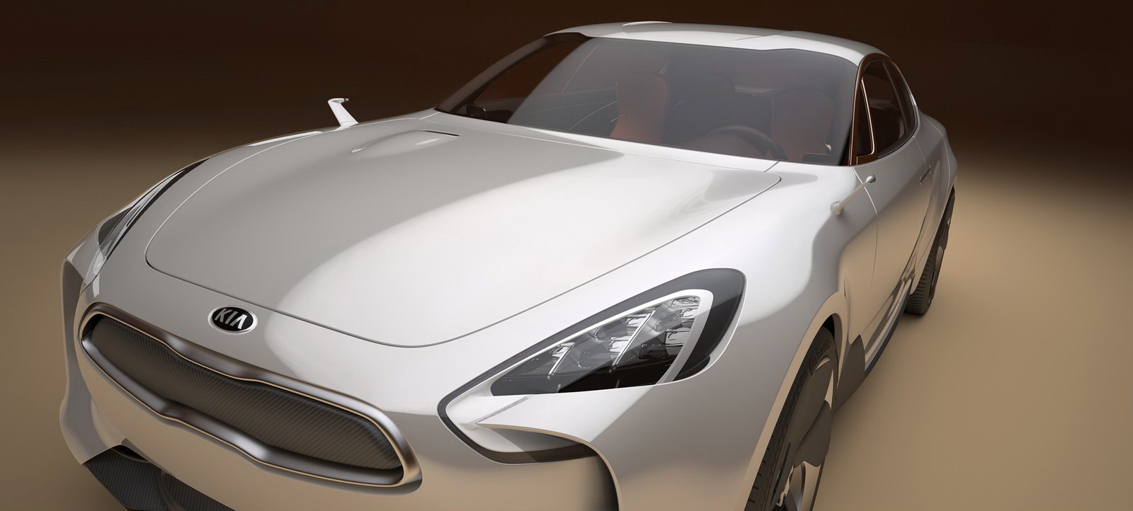 Kia Previews 4Door RWD Coupe Concept for Frankfurt