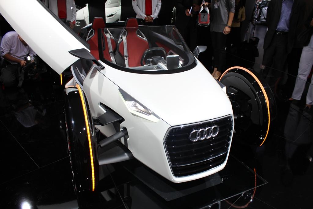 Frankfurt Live Audi A2 And Urban Concept Spyder