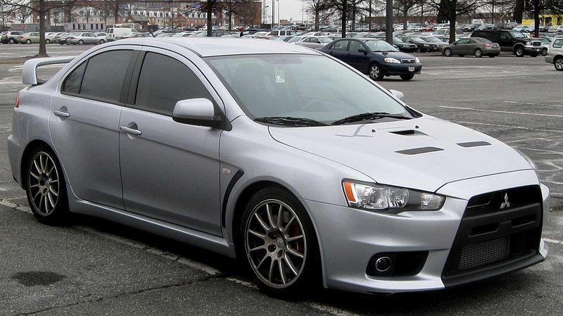 Mitsubishi Lancer Evolution Diesel Hybrid? Oh, the Horror!