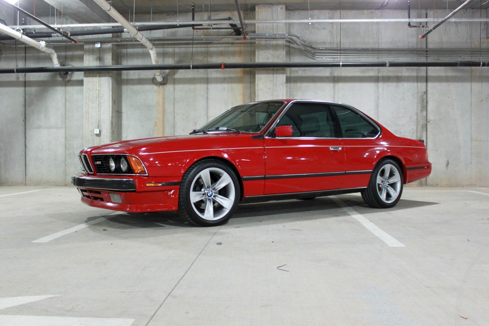 1988 Bmw M6 Test Drive