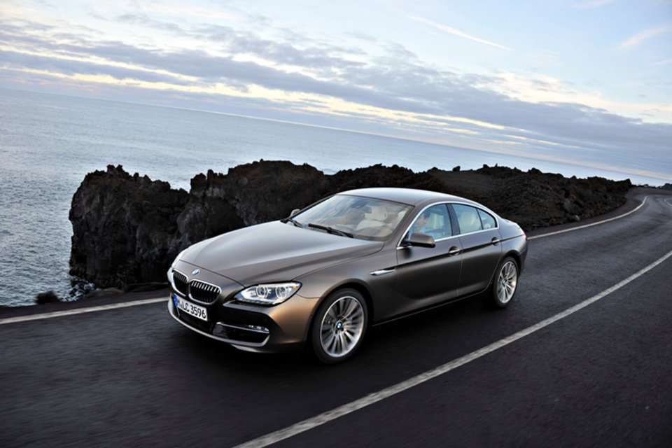 Bmw Unveils 6 Series Gran Coupe