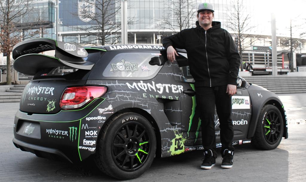 Liam Doran S Rallycross Citroen Monster