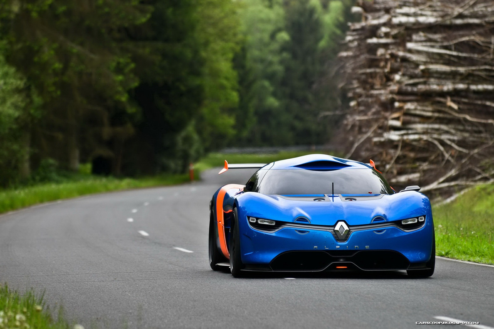 renault alpine concept debuts at monaco gp. Black Bedroom Furniture Sets. Home Design Ideas