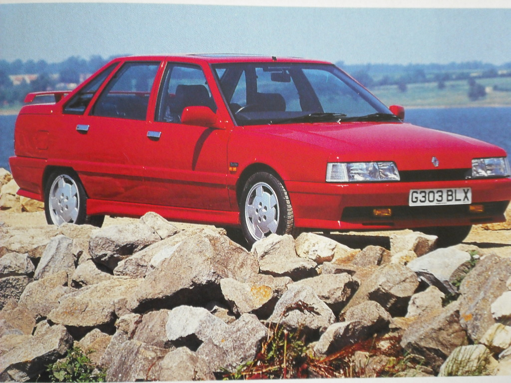 Renaults Hot Sedans 21 Turbo Quadra Safrane And Laguna