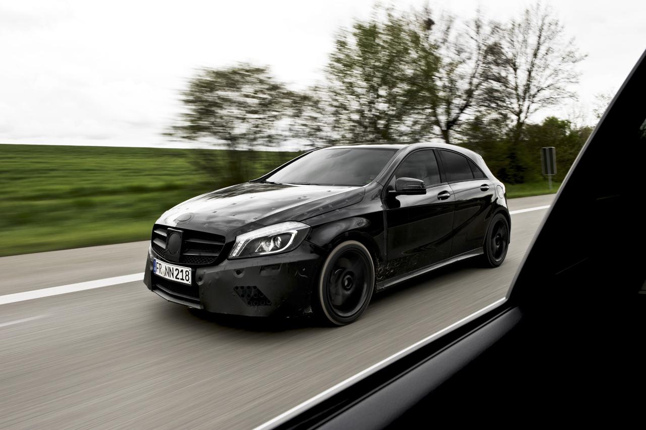 Mercedes Benz Previews Wild A45 AMG