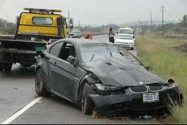 Usain Bolt Car Accident
