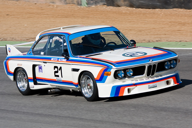 The legendary 'Batmobile' racing CSL