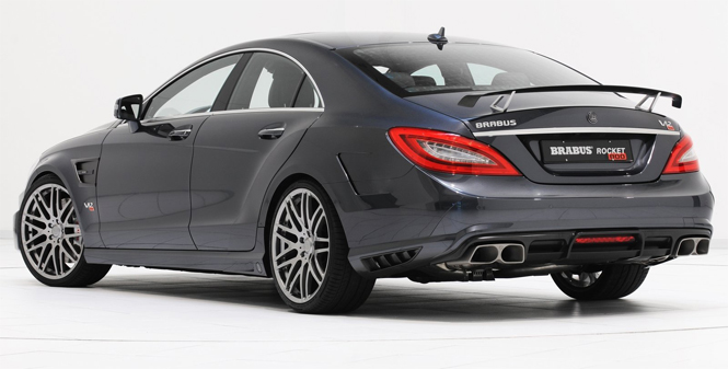 brabus 800 rocket is the fastest street legal saloon in