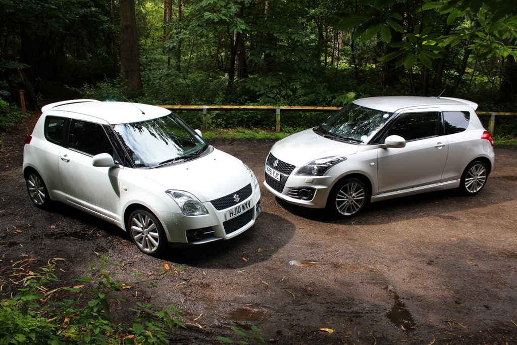 suzuki swift sport mk1 mk2 father meets son. Black Bedroom Furniture Sets. Home Design Ideas