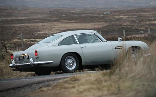 Car Cameo: Bond's Latest Weapons In Skyfall