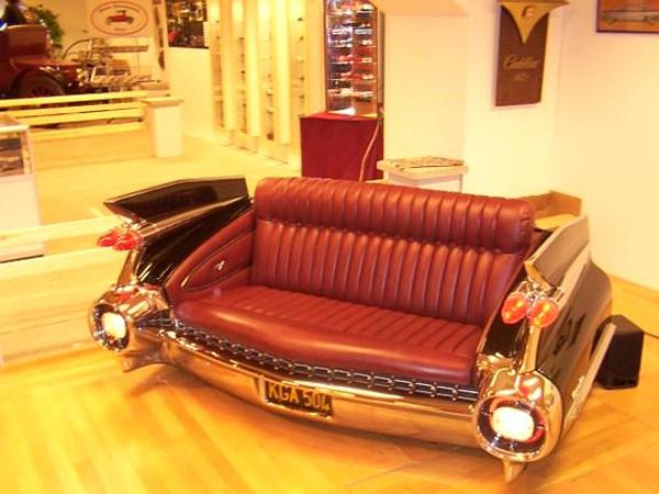 Cadillac Eldorado Sofa