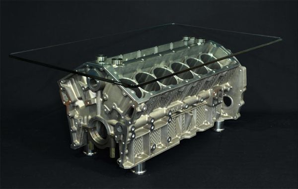 Jaguar V12 Table