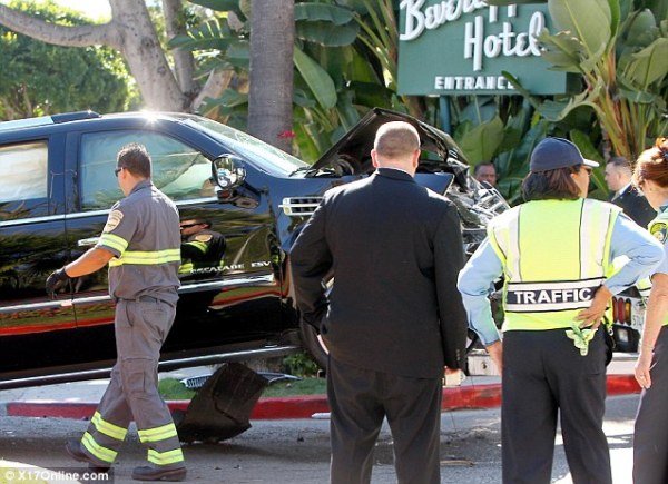 P diddy crashes like a boss for P diddy maison