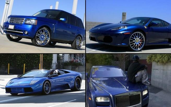 50 Cent S Unusual Ferrari Ff I Just Made It I Just