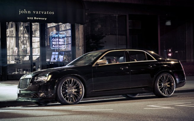 50 Cent Tries To Run And Hide In A Pimped Chrysler 300c
