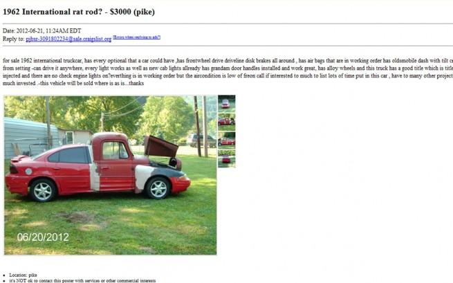 Best Used Car Ad Craigslist