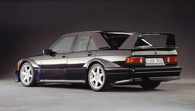 Why the mercedes 190 e 2 5 16 evo ii is the best looking for Mercedes benz 190 e