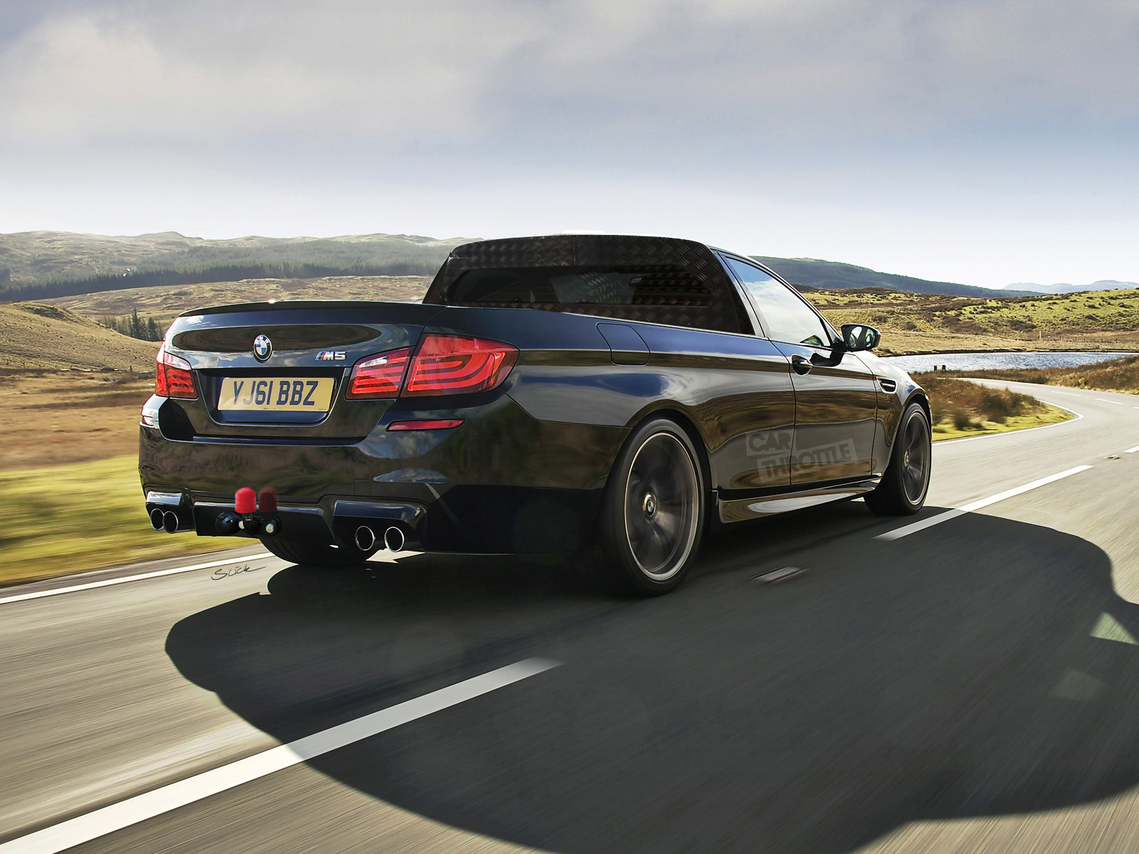 bmw m5 pickup the ultimate tool for the everyman. Black Bedroom Furniture Sets. Home Design Ideas