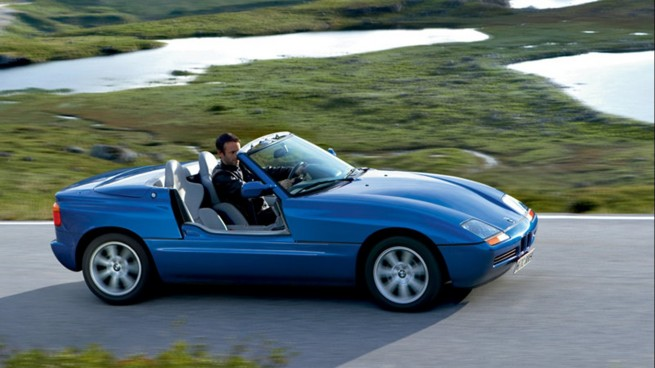If You Ve Never Seen A Door Open On A Bmw Z1 Prepare To