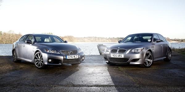 Bmw E60 M5 V10 Vs Lexus Is F V8 Fight